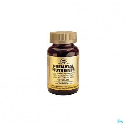 Solgar Prenatal Nutrients Comp 60