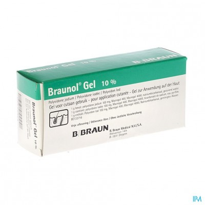 Braunol Gel Tube 100g