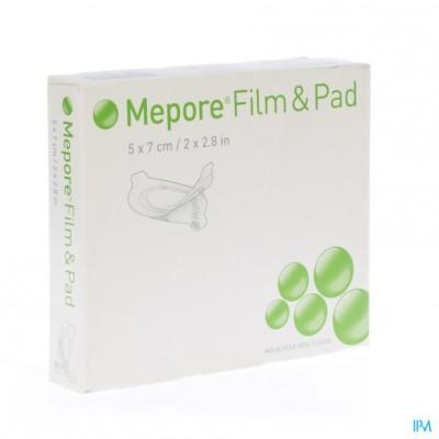 Mepore Film + Pad 5x 7cm 5 275210