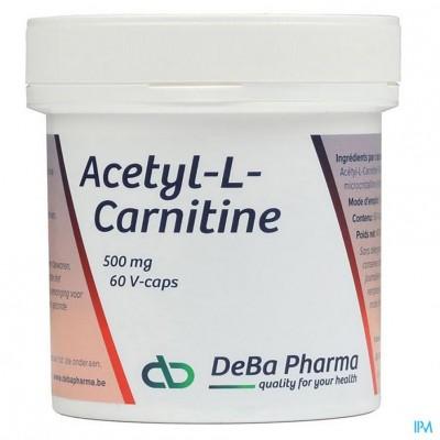 Acetyl-l-carnitine Caps 60x500mg Deba