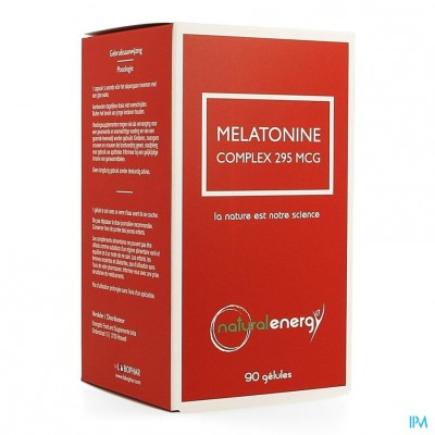 Melatonine Complex Natural Energy Caps 90