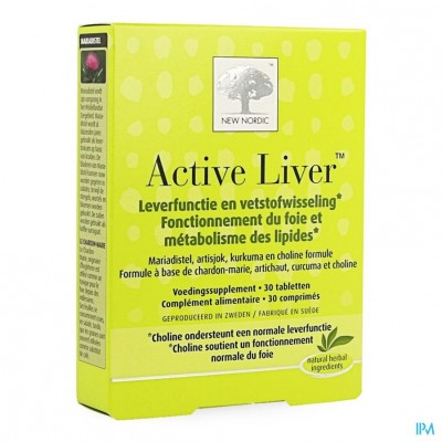 New Nordic Active Liver Comp 30