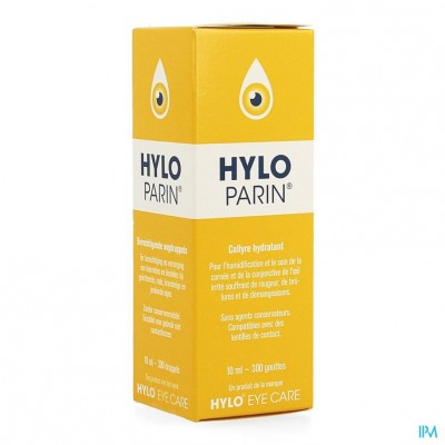 Hylo-parin Oogdruppels 10ml
