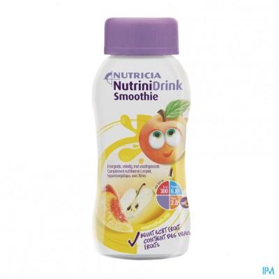 Nutrinidrink Smoothie Zomerfruit Fl 200ml
