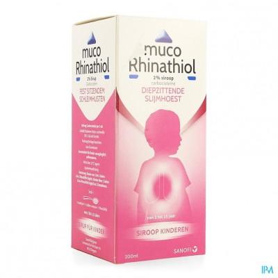 Muco Rhinathiol 2% Sir Inf 200ml