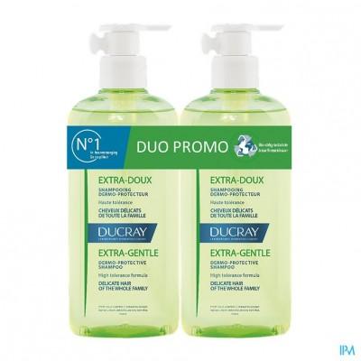 Ducray Extra Zacht Sh Duo 2x400ml