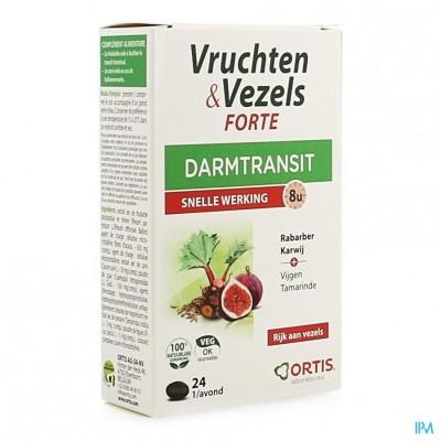Ortis Vruchten & Vezels Forte Comp 24