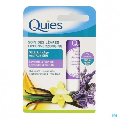 Quies Lippenstift A/age Lavendel&vanille