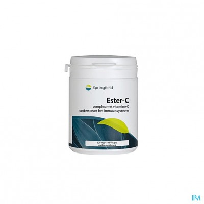 Ester C-vit C+10% Bioflav.600mg Springf.v-caps 180