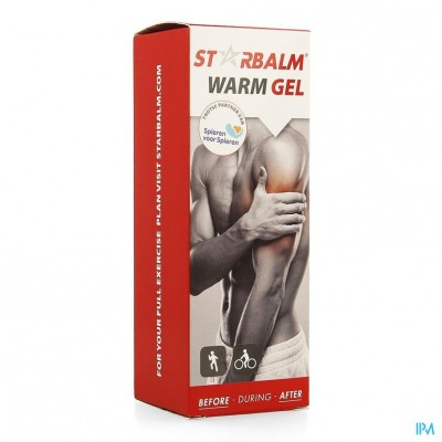 Star Balm Warm Gel Tube 100ml