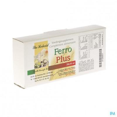 Herborist Ferro Plus Amp 20x10ml 0718