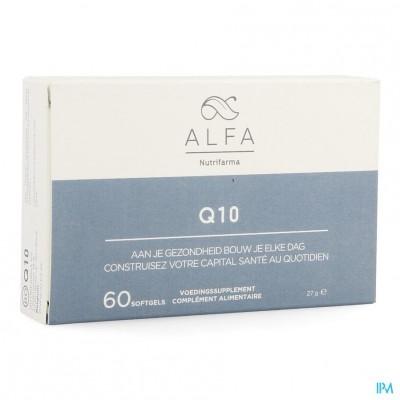 Alfa Q10 100 mg Softgels 60