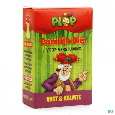 Studio 100 Essentiele Olie Rust Kalmte Plop 10ml