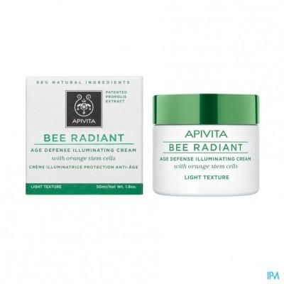Apivita Bee Radiant Creme A/age Lichte Text. 50ml