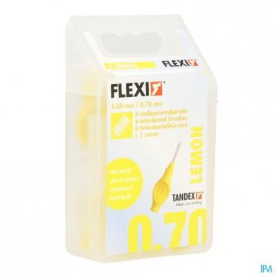 Flexi Yellow Borsteltje Fine Interdentaal 6