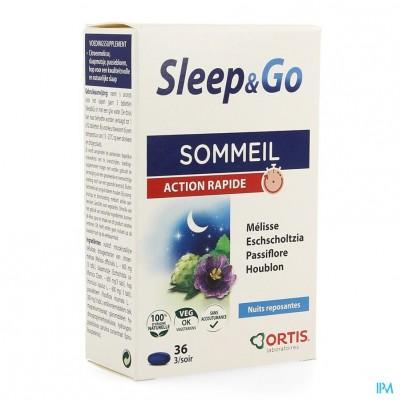 Ortis Sleep & Go Nf Comp 36