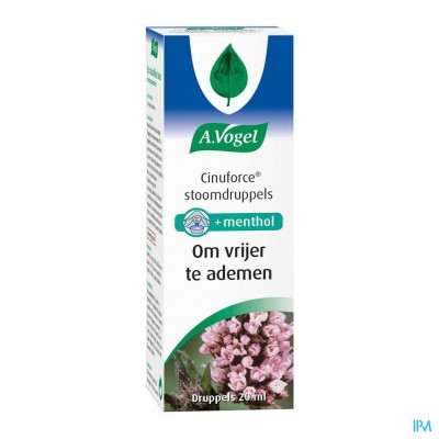 A.Vogel Cinuforce Stoomdruppels 20ml