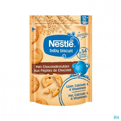 Nestle Biscuits Chocoladestukjes Zakje 150g