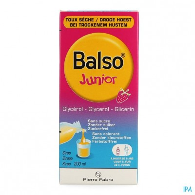 Balso Junior Sirop Fl 200ml