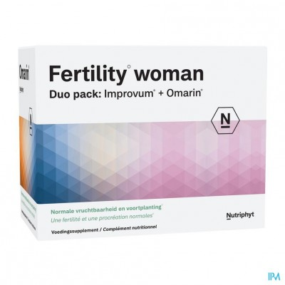 Fertility woman Duo 60 tab Improvum + 60 softgels Omarin