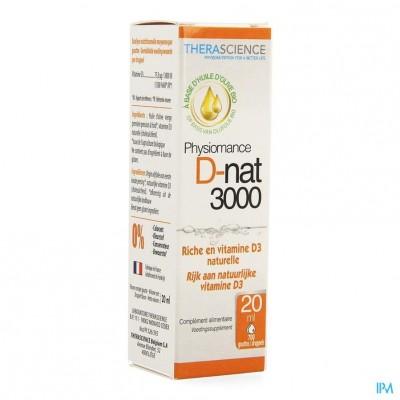 D-nat 3000 Fl Gutt 20ml Physiomance Phy342