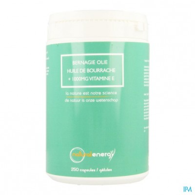 Bernagie Olie Natural Energy Caps 25
