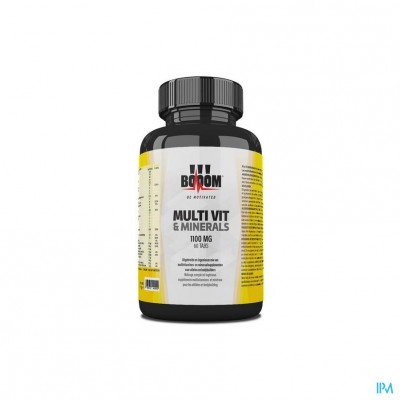 Booom Multi Vit & Minerals 1100mg Comp 60