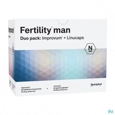 Fertility Man DUO 60 TAB IMPROVUM + 60 SOFTGELS LINUCAPS