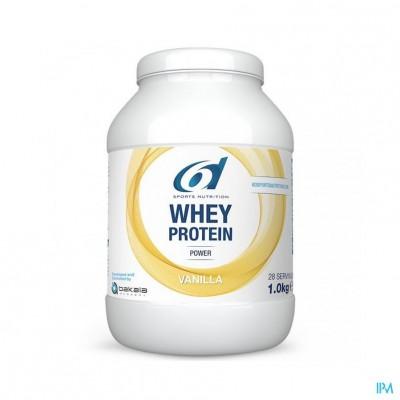 6d Sixd Whey Protein Vanilla 1kg
