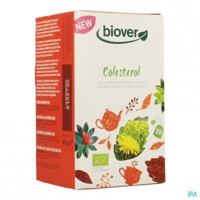 Biover Biokruideninfusie Cholesterol Zakje 20