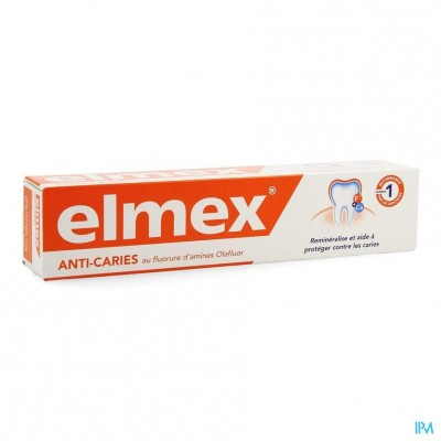ELMEX® ANTI-CARIËS TANDPASTA TUBE 75ML