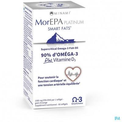 Minami Morepa Platinum +vit D3 1000 IU Caps 60