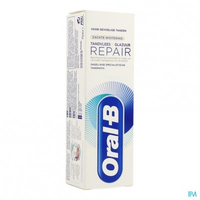 Oral B Tandp. Gum&enamel Repair Gentlewhite 75ml