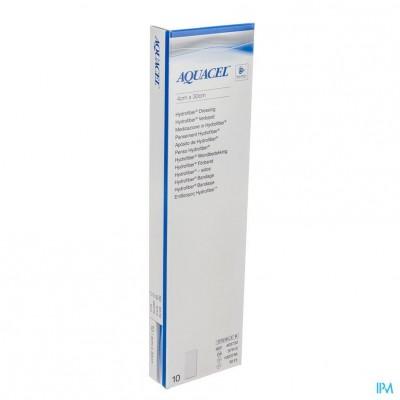 Aquacel Ag Verband Hydrofiber 30cmx4cm 10 403741