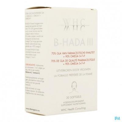 B-hada III Softgels 30