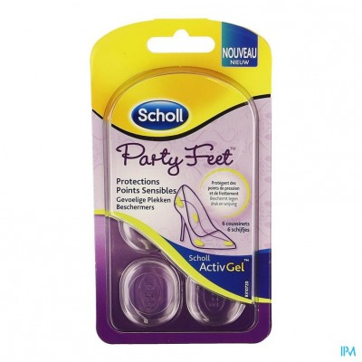 Scholl Activgel Party Feet Gevoelige Plekken 6