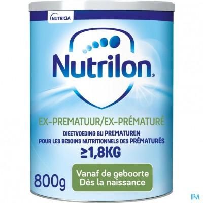 Nutrilon Ex-prematuur poeder 800g Volledige zuigelingenvoeding