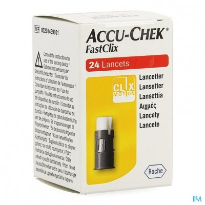 Accu Chek Mobile Fastclix Lancetten 4x6 5208459001
