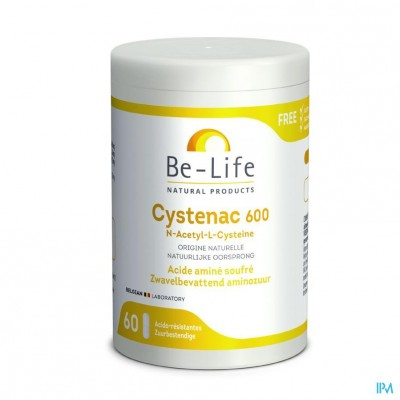 Cystenac 600 Be Life Gel 60x600mg