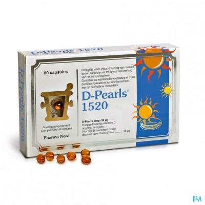 D-pearls 1520 Caps 80
