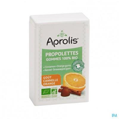 Aprolis Propolettes Kaneel-sinaas Bio Gom 50g