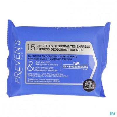 Preven's Tissue Deodorant Zakje 1x15