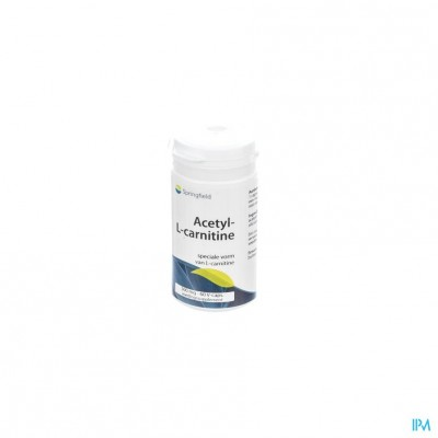 Acetyl-l-carnitine 500mg Springfield V-caps 60