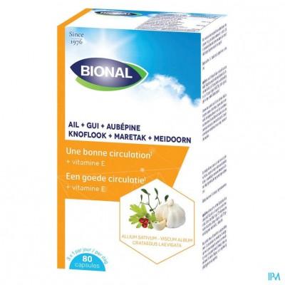 Bional Look-maretak-meidoorn-vit E Caps 80