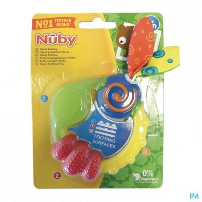Nûby Wacky™ Bijtring - 3m+