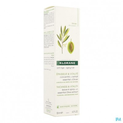 Klorane Capil. Spray Olijfboom Pompfl 125ml