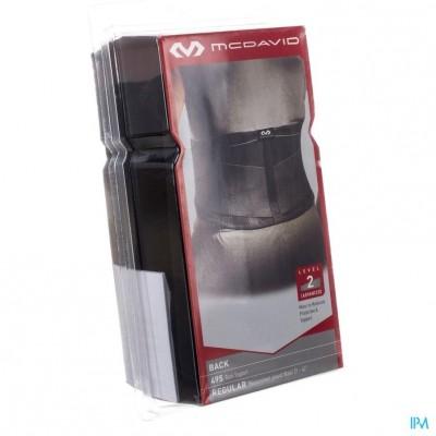 Mcdavid Lightweight Back Support Black Regular 495