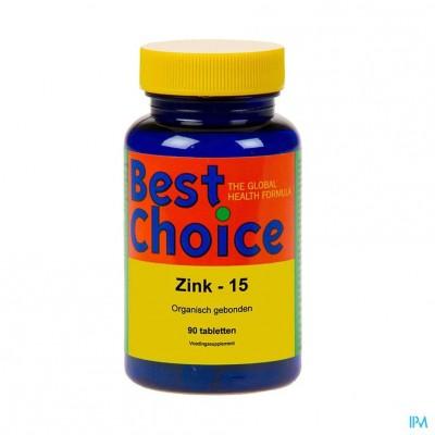 Best Choice Zink 15 Tabl 90