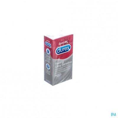 Durex Feeling Ultra Sensitive Condoms 12