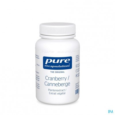 Pure Encapsulations Cranberry Caps 60